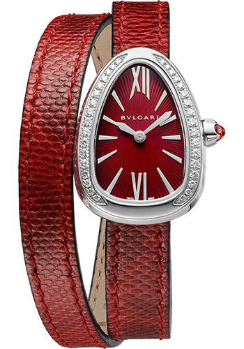 Bulgari Watches - Serpenti 27 mm - Stainless Steel - Style No: 102780
