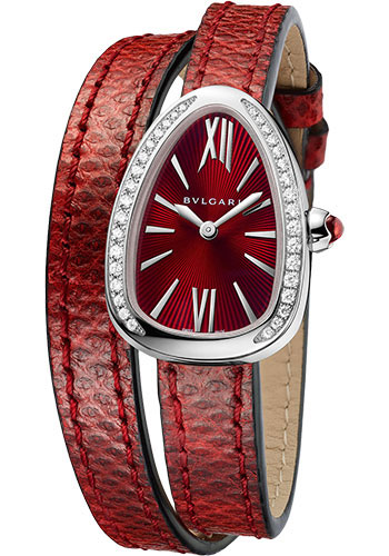 Bulgari Watches - Serpenti 27 mm - Stainless Steel - Style No: 102780 SPS27C9SDL