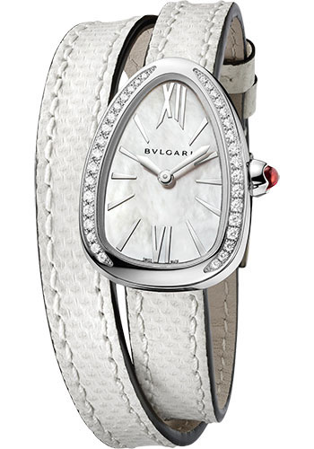 Bulgari Watches - Serpenti 27 mm - Stainless Steel - Style No: 102781 SPS27WSDL