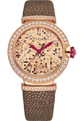 Bulgari Watches - Lucea 33 mm - Pink Gold - Style No: 102799