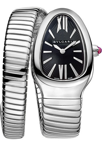 Bulgari Watches - Serpenti Tubogas - 35 mm - Stainless Steel - Style No: 102824