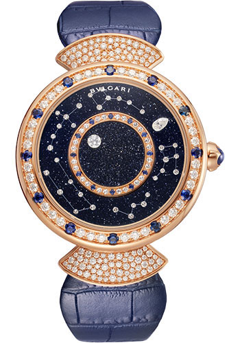 Bulgari Watches - Divas Dream 37 mm - Rose Gold - Style No: 102843