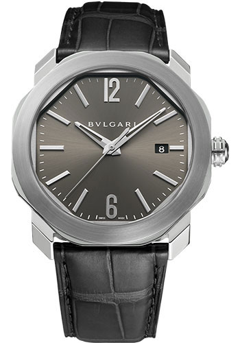 Bulgari Watches - Octo Roma - 41 mm - Stainless Steel - Style No: 102855