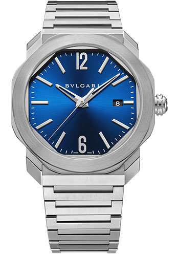 Bulgari Watches - Octo Roma - 41 mm - Stainless Steel - Style No: 102856