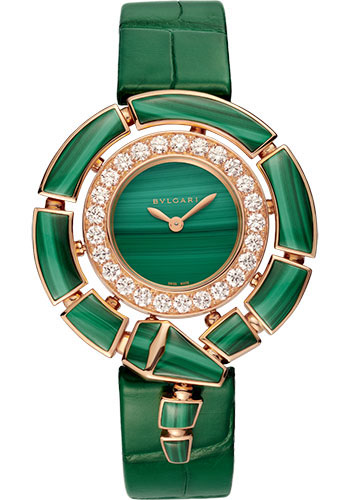 Bulgari Watches - Serpenti Incantati - 37 mm - Rose Gold - Style No: 102871
