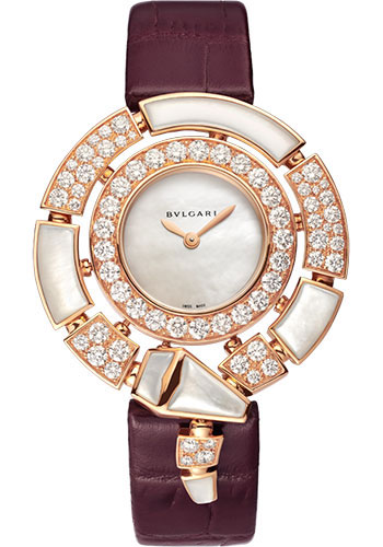 Bulgari Watches - Serpenti Incantati - 37 mm - Rose Gold - Style No: 102872