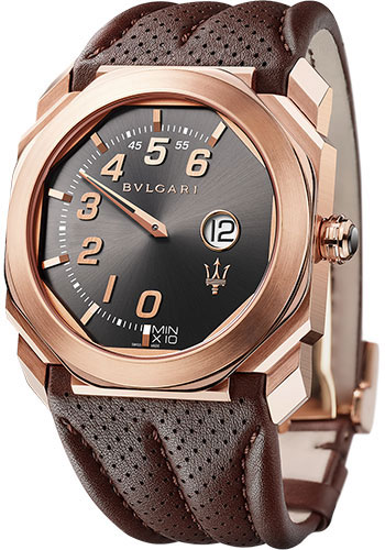 Bulgari Watches - Octo Maserati Granlusso - 41 mm - Rose Gold - Style No: 102906