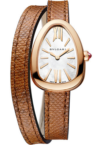 Bulgari Watches - Serpenti 32 mm - Rose Gold - Style No: 102919