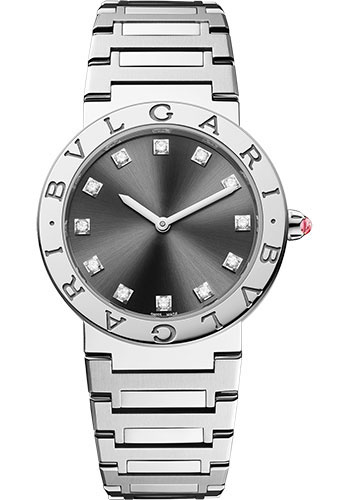 Bulgari Watches - Bulgari Bulgari Lady - 33 mm - Stainless Steel - Style No: 102923