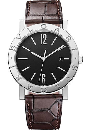Bulgari Watches - Bulgari Bulgari Solotempo - 41 mm - Stainless Steel - Style No: 102927
