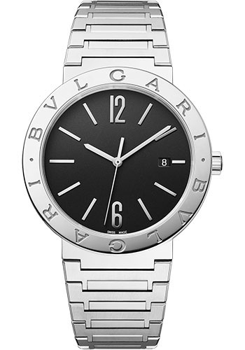Bulgari Watches - Bulgari Bulgari Solotempo - 41 mm - Stainless Steel - Style No: 102928