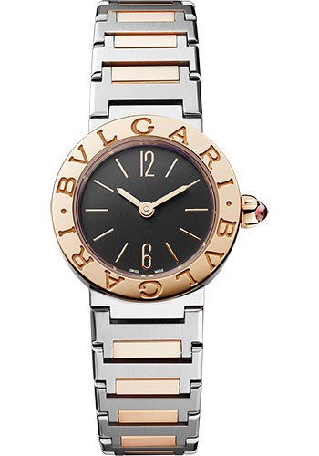Bulgari Watches - Bulgari Bulgari Lady - 23 mm - Steel and Rose Gold - Style No: 102944