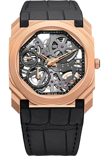 Bulgari Watches - Octo Finissimo - 40 mm - Rose Gold - Style No: 102946