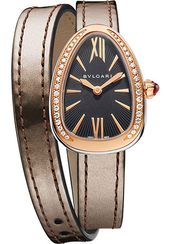 Bulgari Watches - Serpenti 27 mm - Steel and Rose Gold - Style No: 102968