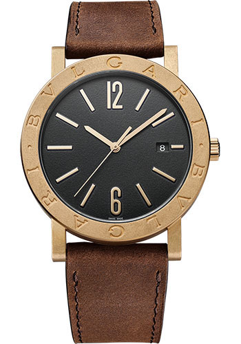Bulgari Watches - Bulgari Bulgari Solotempo - 41 mm - Bronze - Style No: 102977