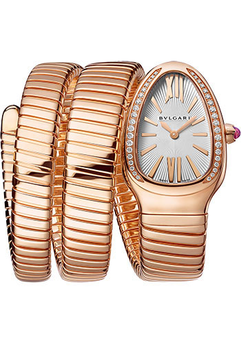 Bulgari Watches - Serpenti Tubogas - 35 mm - Rose Gold - Style No: 103002