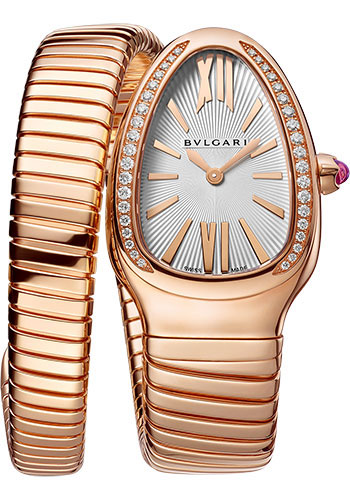 Bulgari Watches - Serpenti Tubogas - 35 mm - Rose Gold - Style No: 103003