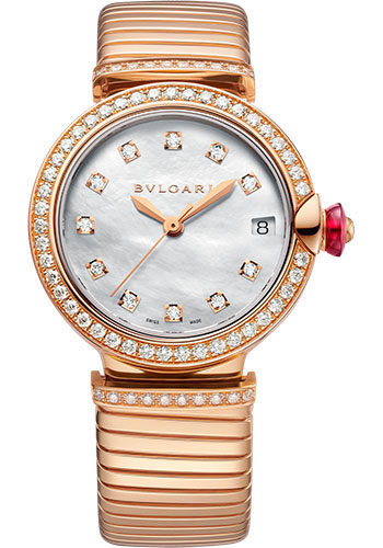 Bulgari Watches - Lucea Tubogas - 33 mm - Rose Gold - Style No: 103034