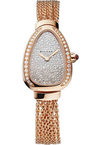 Bulgari Watches - Serpenti 27 mm - Rose Gold - Style No: 103063