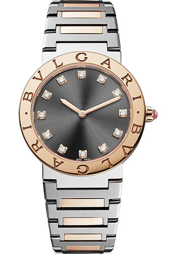 Bulgari Watches - Bvlgari Bvlgari 33 mm - Stainless Steel - Style No: 103067
