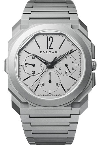 Bulgari Watches - Octo Finissimo - 42 mm - Titanium - Style No: 103068