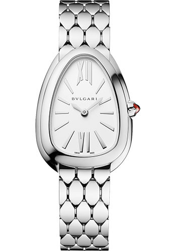 Bulgari Watches - Serpenti Seduttori - 33 mm - Stainless Steel - Style No: 103141