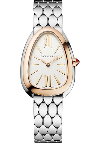 Bulgari Watches - Serpenti Seduttori - 33 mm - Steel and Rose Gold - Style No: 103144