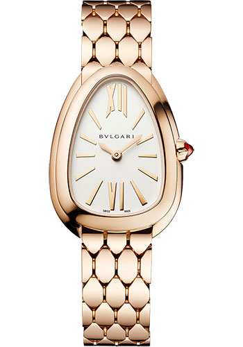 Bulgari Watches - Serpenti Seduttori - 33 mm - Rose Gold - Style No: 103145