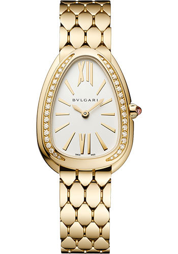 Bulgari Watches - Serpenti Seduttori - 33mm - Yelow Gold - Style No: 103147