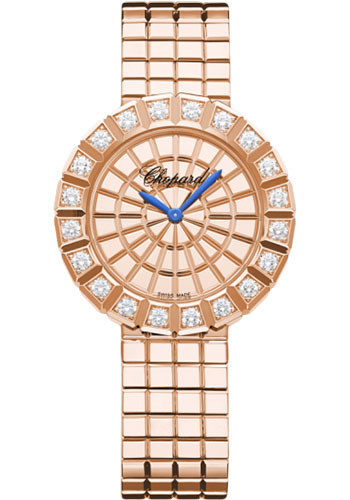 Chopard Watches - Ice Cube Rose Gold - Style No: 104015-5001