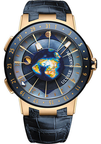 Ulysse Nardin Watches - Executive Moonstruck - Style No: 1062-113