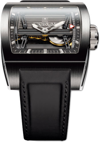Corum Watches - Ti-Bridge Power Reserve - Titanium - Style No: 107.201.04/0F61 0000