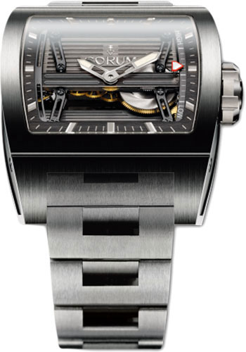 Corum Watches - Ti-Bridge Power Reserve - Titanium - Style No: 107.201.04/V250 0000