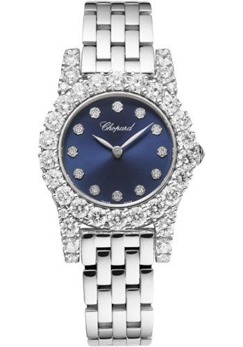 Chopard Watches - L Heure Du Diamant Round Small - Style No: 10a377-1002