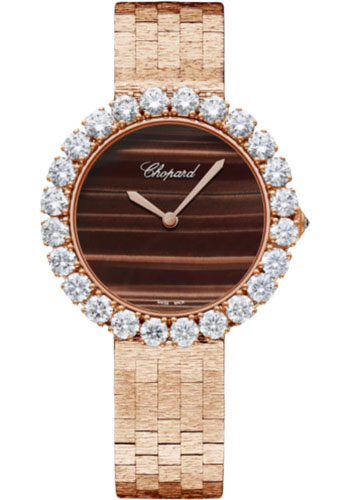 Chopard Watches - L Heure Du Diamant Round Medium - Style No: 10a419-5023