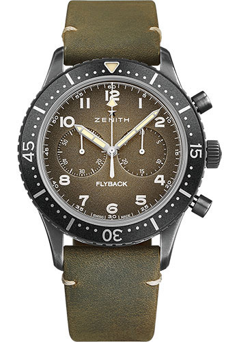 Zenith Watches - Pilot Cronometro Tipo Cp-2 Flyback - Style No: 11.2240.405/21.C773