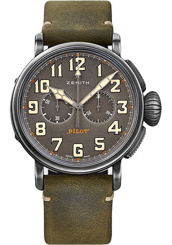 Zenith Watches - Pilot Ton-Up - Style No: 11.2430.4069/21.C773