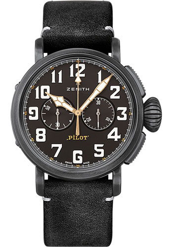 Zenith Watches - Pilot Type 20 Chronograph Ton-Up - Style No: 11.2432.4069/21.C900