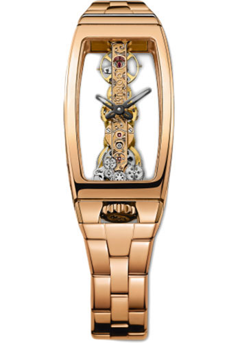 Corum Watches - Golden Bridge 21 x 43 mm - Red Gold - Style No: B113/00975 - 113.101.55/V880 0000