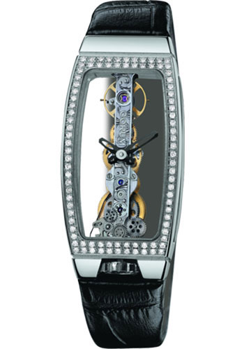 Corum Watches - Miss Golden Bridge White Gold - Style No: 113.102.69/0001 0000