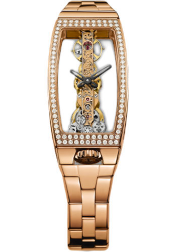 Corum Watches - Miss Golden Bridge Red Gold - Style No: 113.102.85/V880 0000