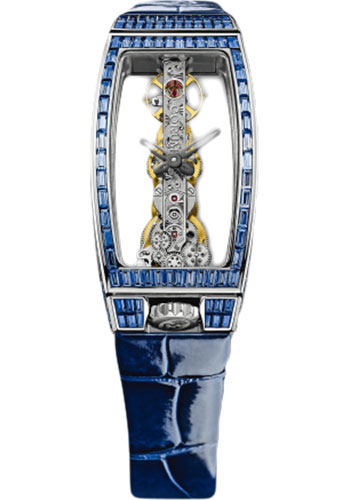 Corum Watches - Miss Golden Bridge White Gold - Style No: 113.143.69/0083 0000