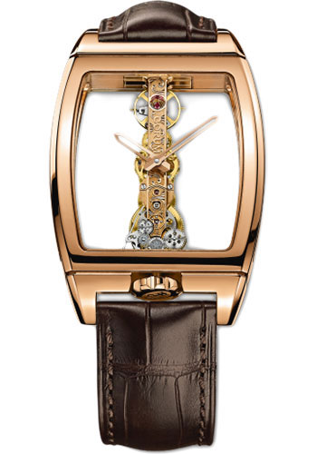 Corum Watches - Golden Bridge 34 x 51 mm - Red Gold - Style No: B113/01043 - 113.160.55/0002 0000