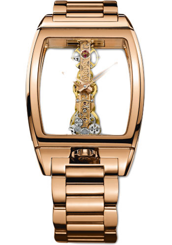 Corum Watches - Golden Bridge 34 x 51 mm - Red Gold - Style No: B113/01364 - 113.160.55/V100 0000