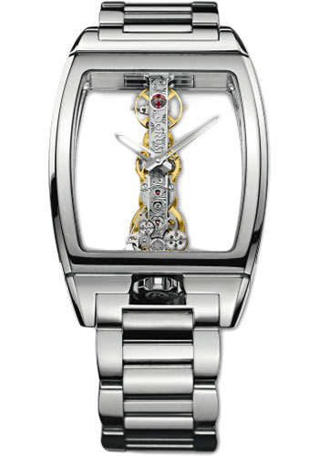 Corum Watches - Golden Bridge 34mm - White Gold - Style No: 113.160.59/V100 0000