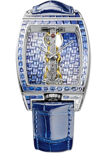 Corum Watches - Golden Bridge 35mm - White Gold - Style No: 113.273.69/0F03 GR43G