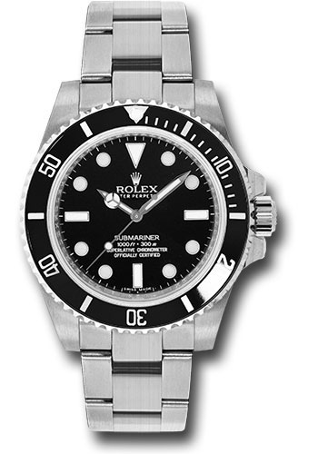 Rolex Watches - Submariner Steel - Style No: 114060
