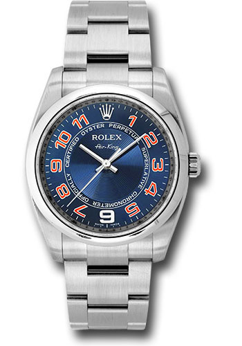 Rolex Watches - Air-King Domed Bezel - Style No: 114200 blcao