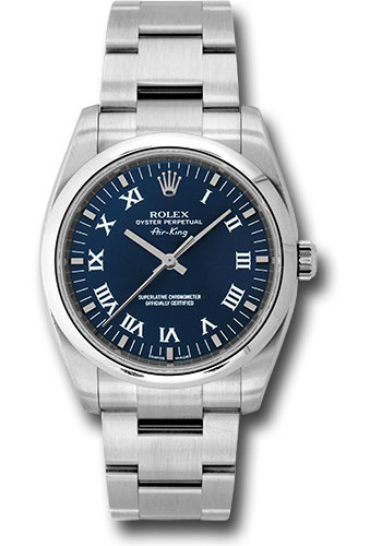 Rolex Watches - Air-King Domed Bezel - Style No: 114200 blro