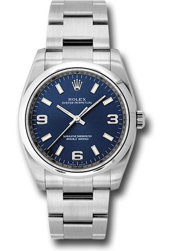 Rolex Watches - Oyster Perpetual No-Date 34mm - Domed Bezel - Style No: 114200 nblao